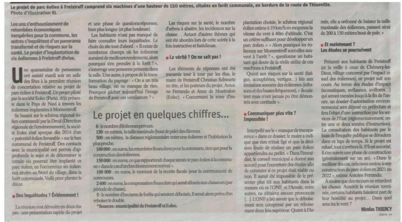 Article rl 06 juillet 2019