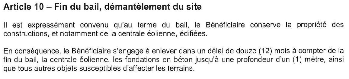 Bail elimination beton 1m
