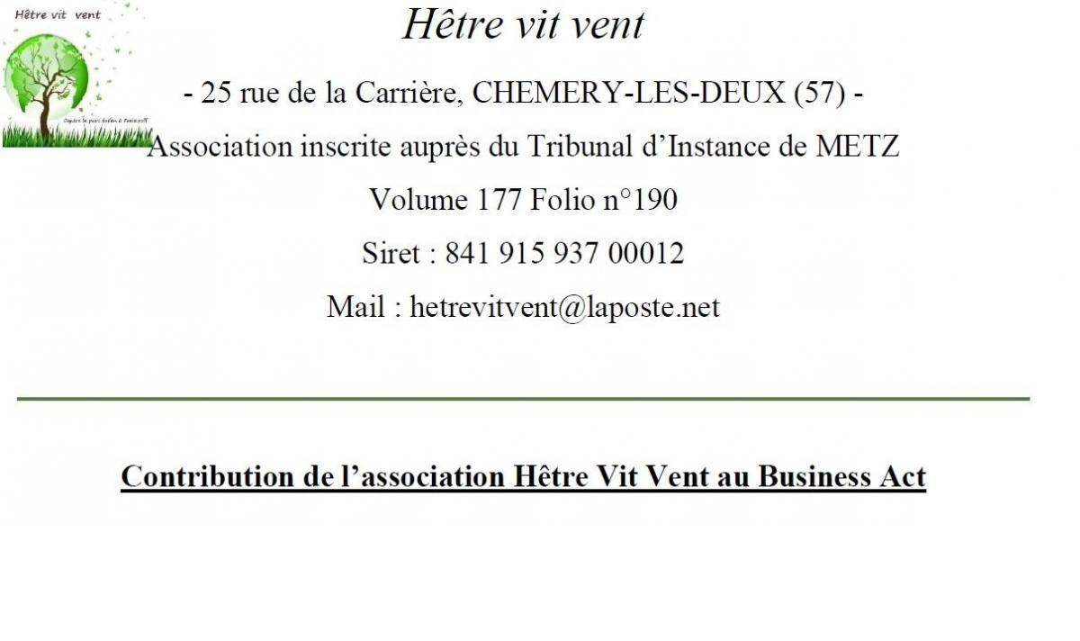 Contribution business act grand est