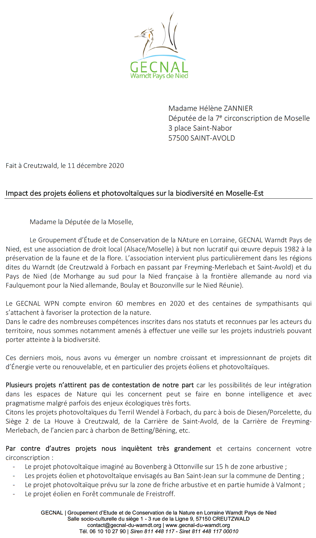 Courrier gecnal deputee 2